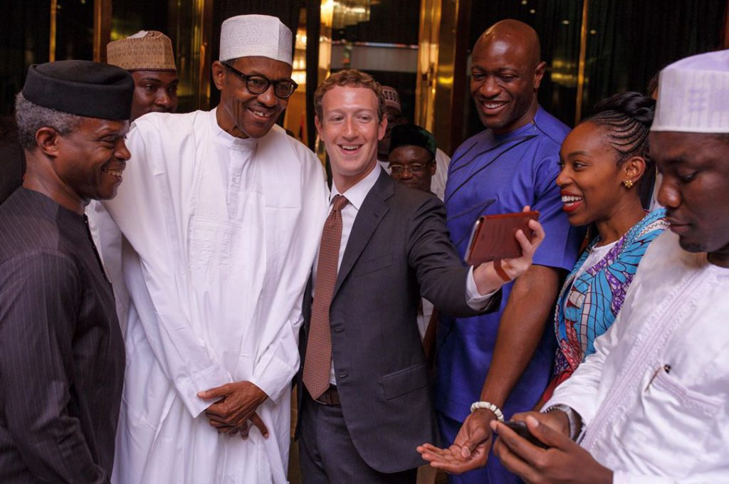 Mark Zuckerberg in Abuja