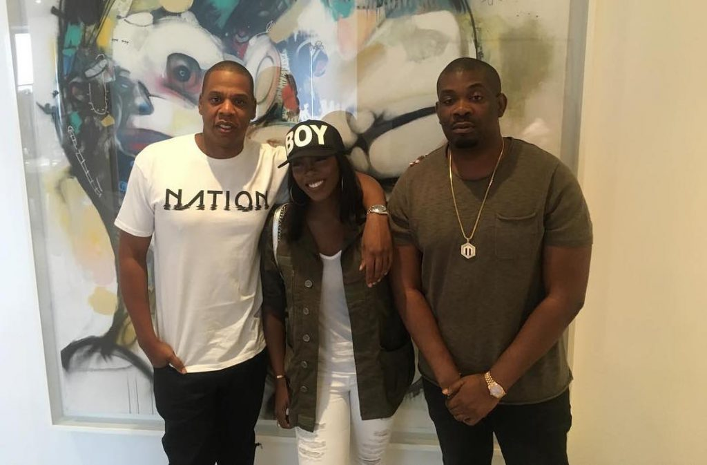 Don Jazzy and Jay Z Tiwa Savage
