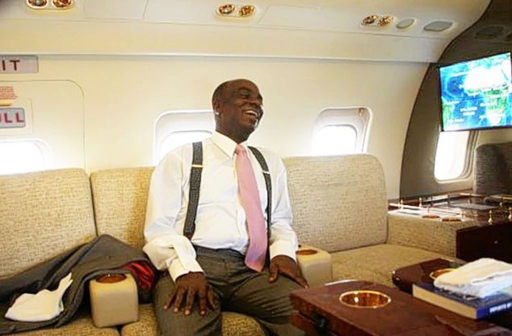 Pastor Oyedepo - Private Jet