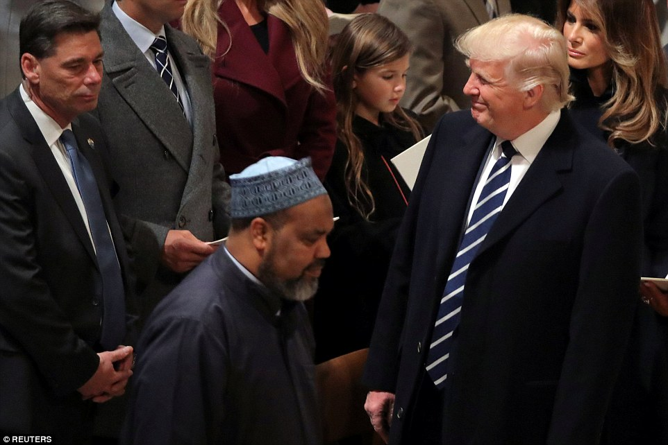 Trump Interfaith Worship
