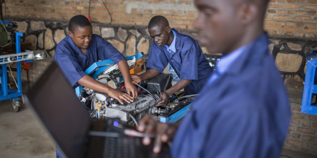 STEM-EducationRwandan Vocational School