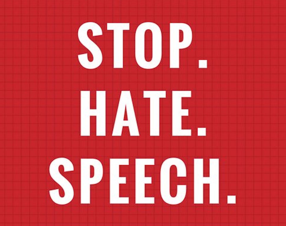 Stop Hate Speech
