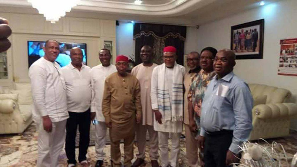 Nnamdi Kanu and Nigerian Senators
