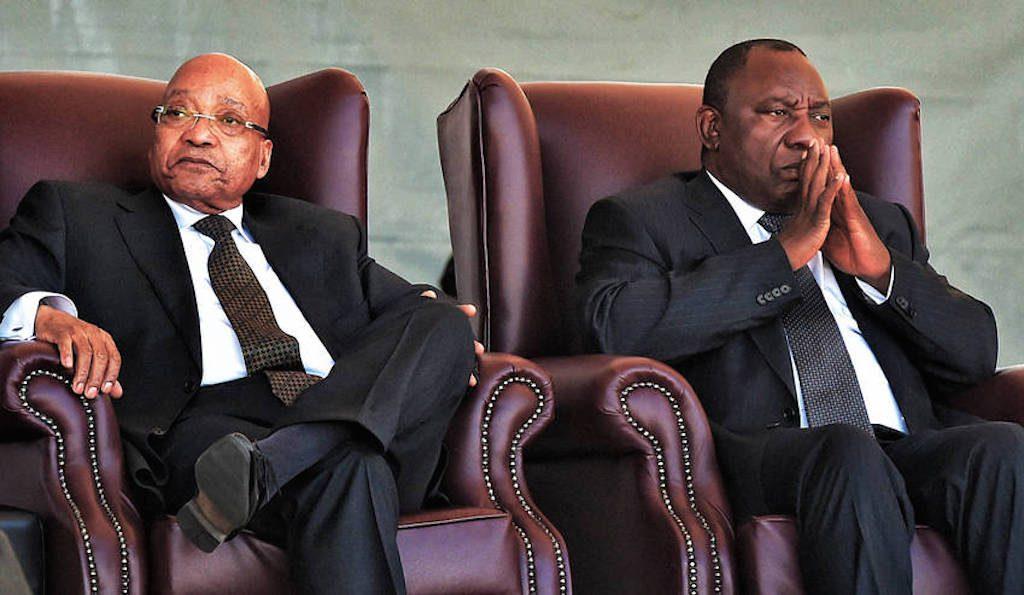 Zuma and Ramaphosa