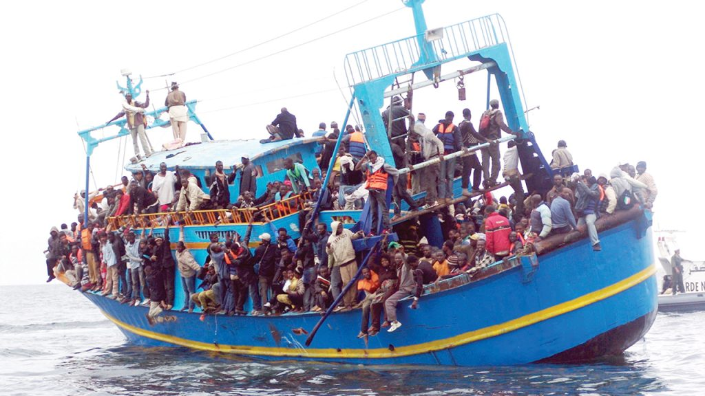 Africa-Migrant-Mediterranean Crossing