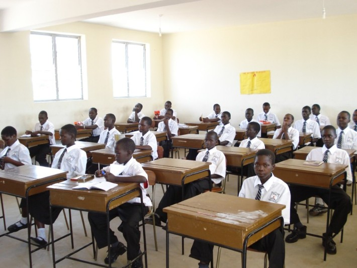 FILE PHOTO: Students in a classroom