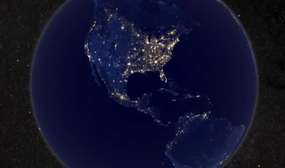 Earth at night: NASA gives dazzling night view of Earth ...