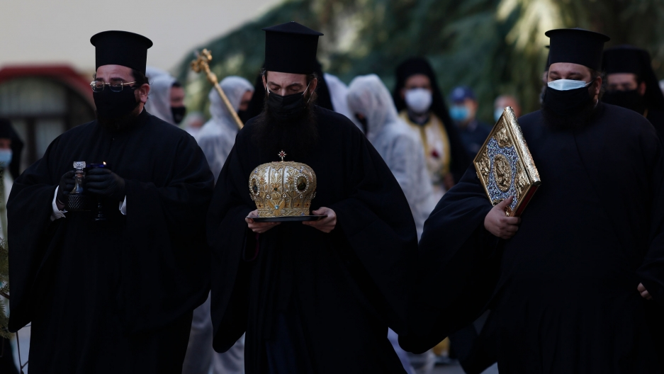 Coronavirus outbreak among Greek Orthodox Church leaders raises alarm | The  World from PRX