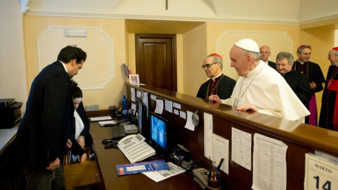 Pope Francis Skips Palatial Ointment For Modest 2 Room Apartment