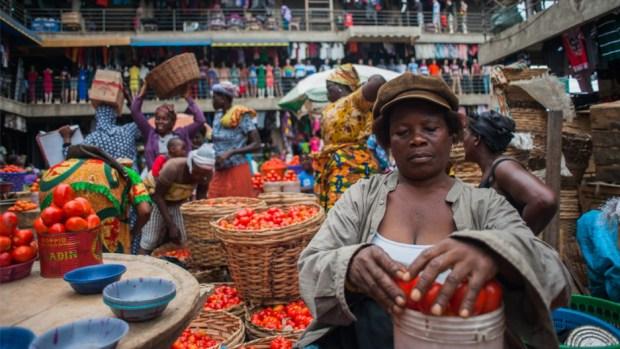 Accra Market Ghana