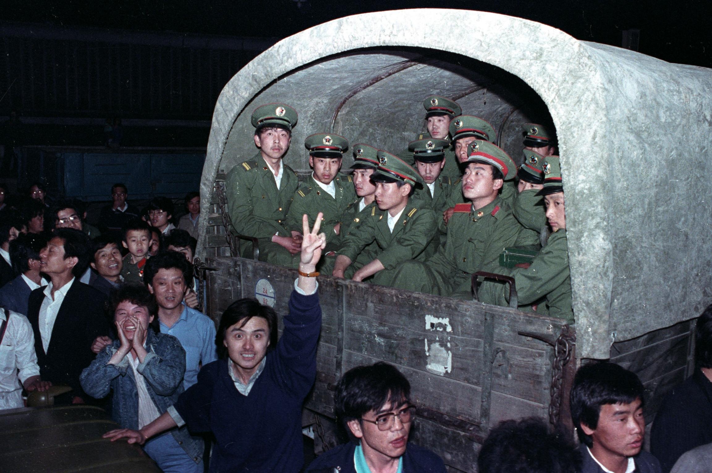 1989 Tiananmen Protests Square