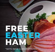Easter Ham Free With All Meat Subscription Boxes Delivered Straight To Your Door