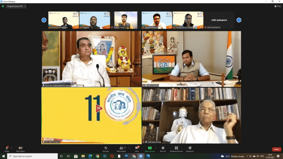 Inclusive Economic Development is the only way forward for the nation, students and financial experts got into an analytical discussion on the state of Indian economy in 11 edition of Bharatiya Chhatra Sansad