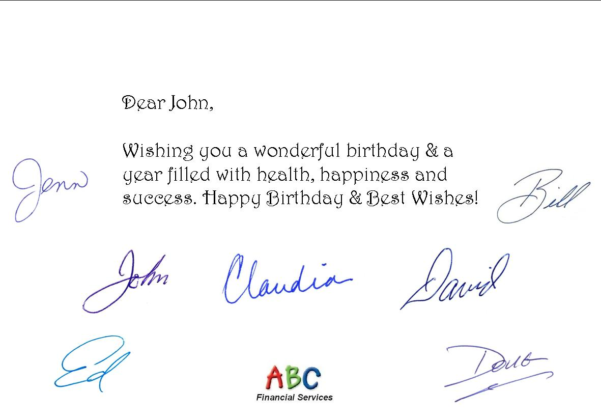 Fully Automated Birthday Card Service Helps Professionals