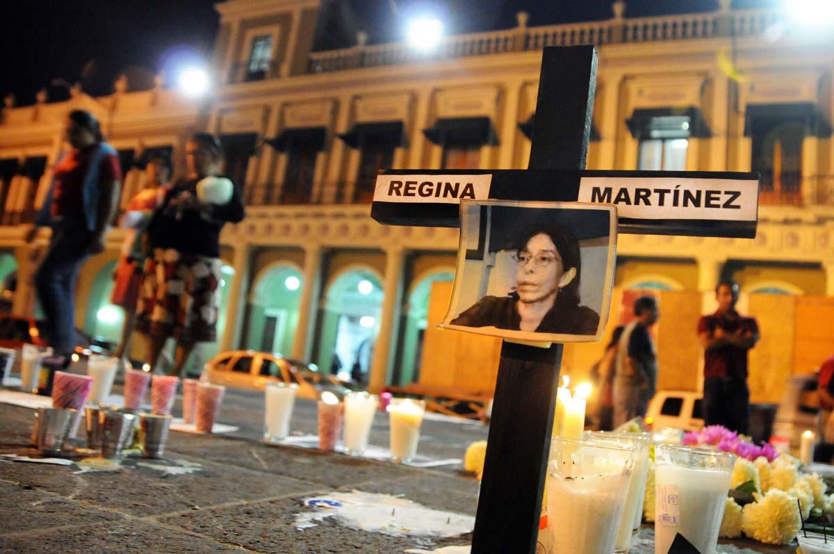Condenan asesinato de Regina Martínez en Veracruz. Foto: Yahir Ceballos