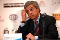Claudio X. González, titular de Mexicanos Primero. Foto: Miguel Dimayuga
