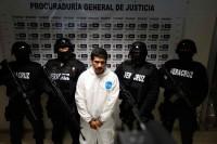 Presenta la PGJV a Jorge A. Hernández, supuesto asesino de Regina Martínez... Foto: Fotover / Antonio Palacios