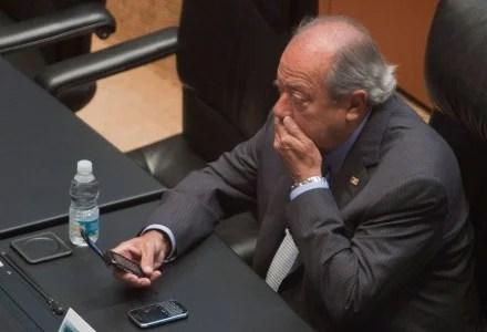 El líder petrolero Carlos Romero Deschamps. Foto: Octavio Gómez