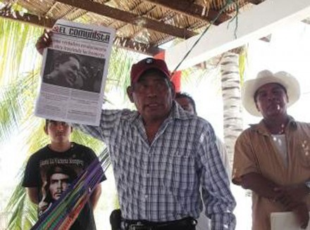 Raymundo Velázquez Flores, dirigente de la Liga Agraria Revolucionaria del Sur. Foto: Especial