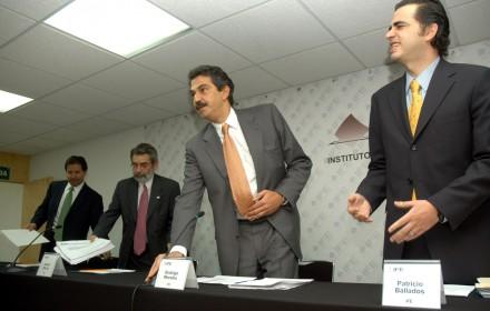 Gustavo Lomelín Cornejo, extitular de comunicación social del IFE. Foto: Miguel Dimayuga