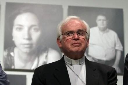 El obispo de Saltillo, Raúl Vera. Foto: Víctor Hugo Valdivia