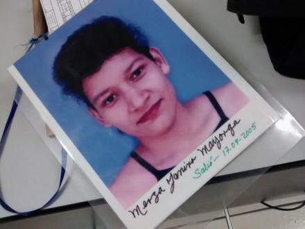 Un retrato de Merza Yanira Mayorga. Foto: Cimac Noticias