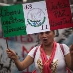 Exigen la liberación de los detenidos el #20NovMx. Foto: Alejandro Saldívar