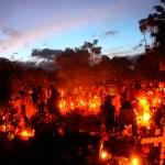 Día de Muertos en Santa María Atzompa, Oaxaca. Foto: Xinhua / Máx Núñez