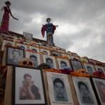 Recuerdan a los 43 normalistas en la UNAM. Foto: Xinhua / Alejandro Ayala