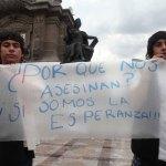 Exigen la liberación de los detenidos el #20NovMx. Foto: Benjamin Flores