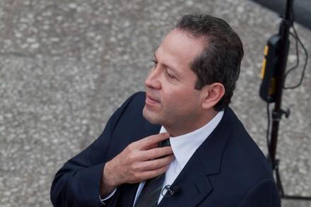 Eruviel Ávila, gobernador del Edomex.  Foto: Miguel Dimayuga