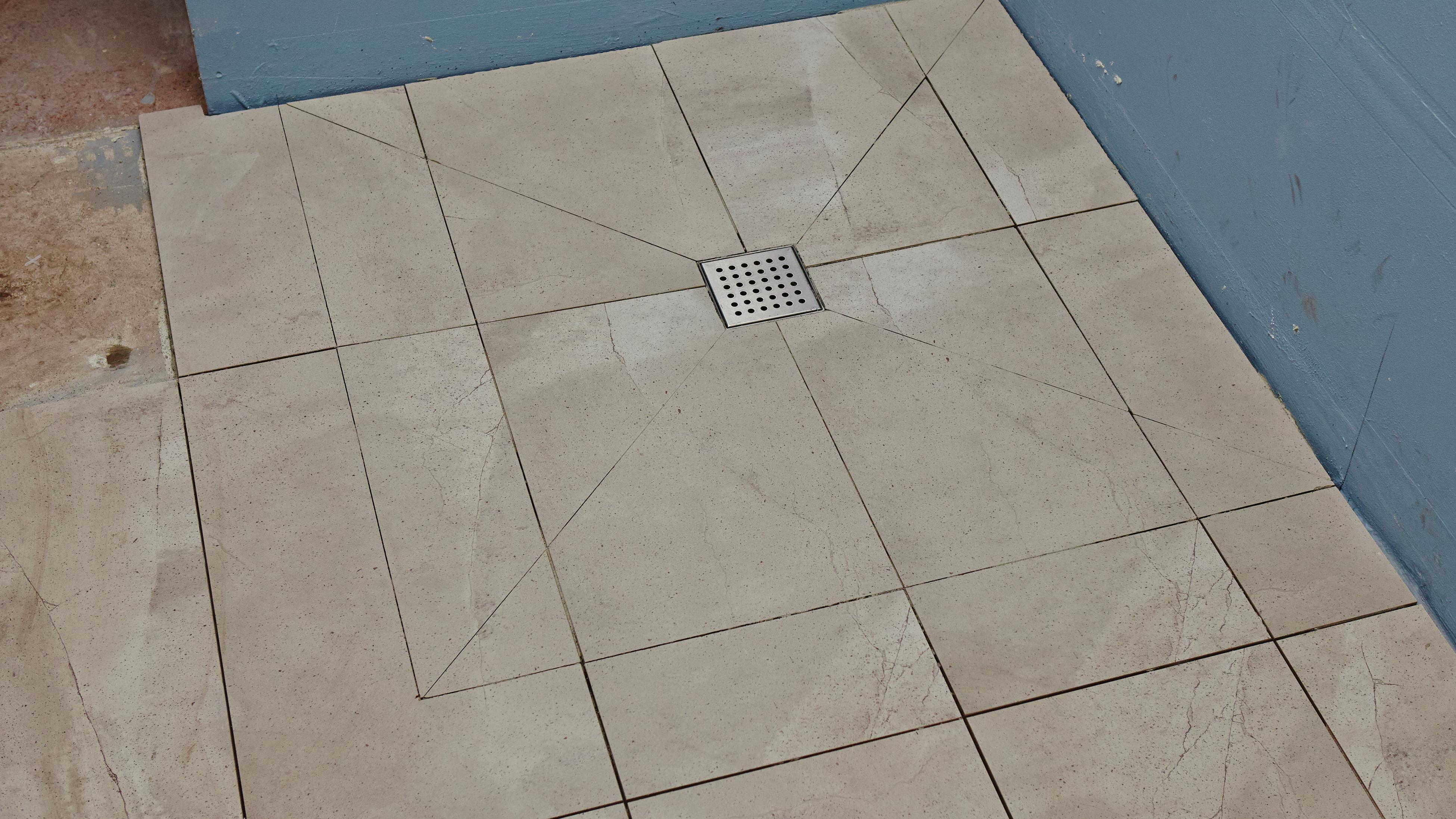 how to tile a shower tray bunnings
