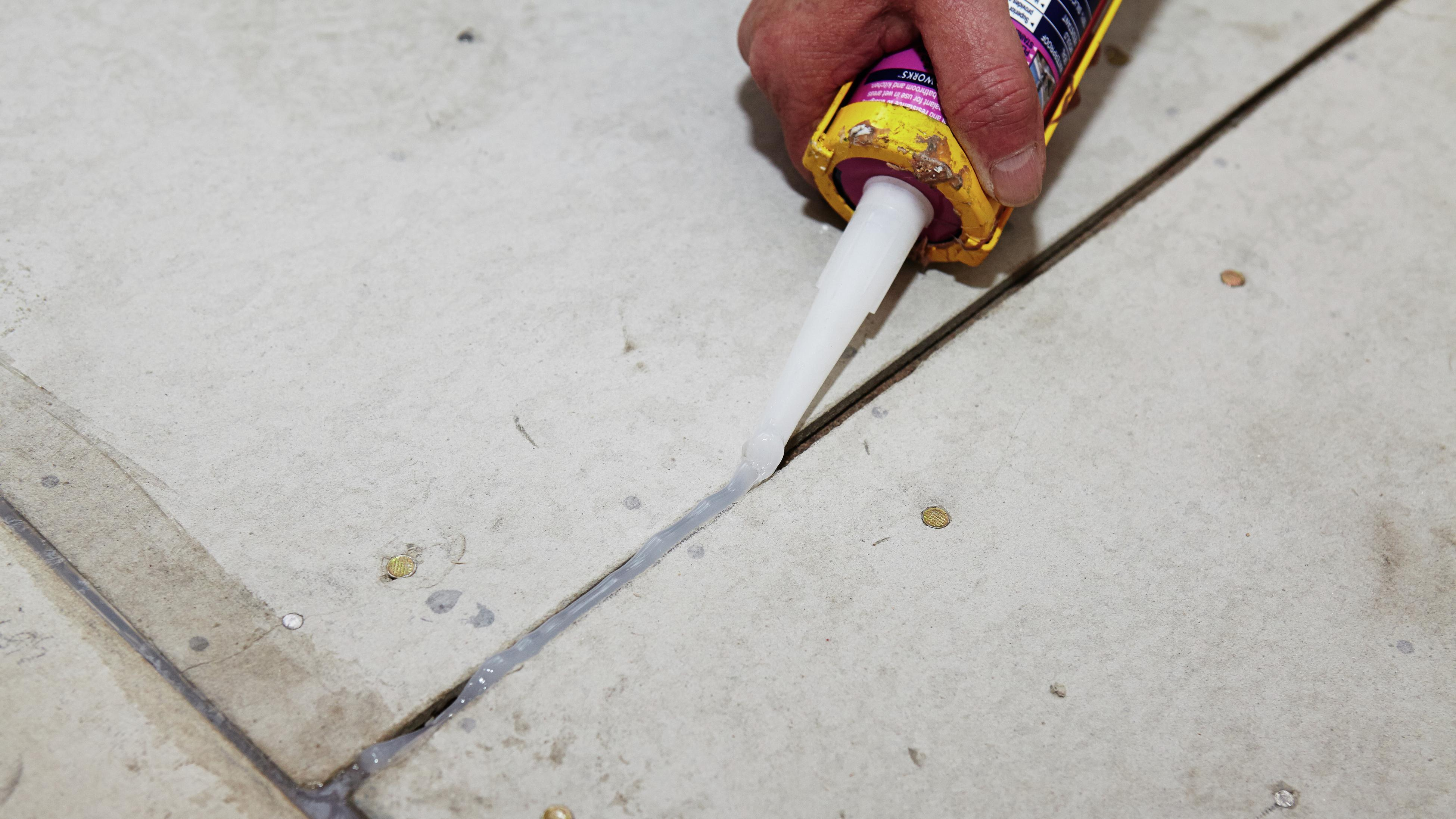 how to install tile underlay bunnings