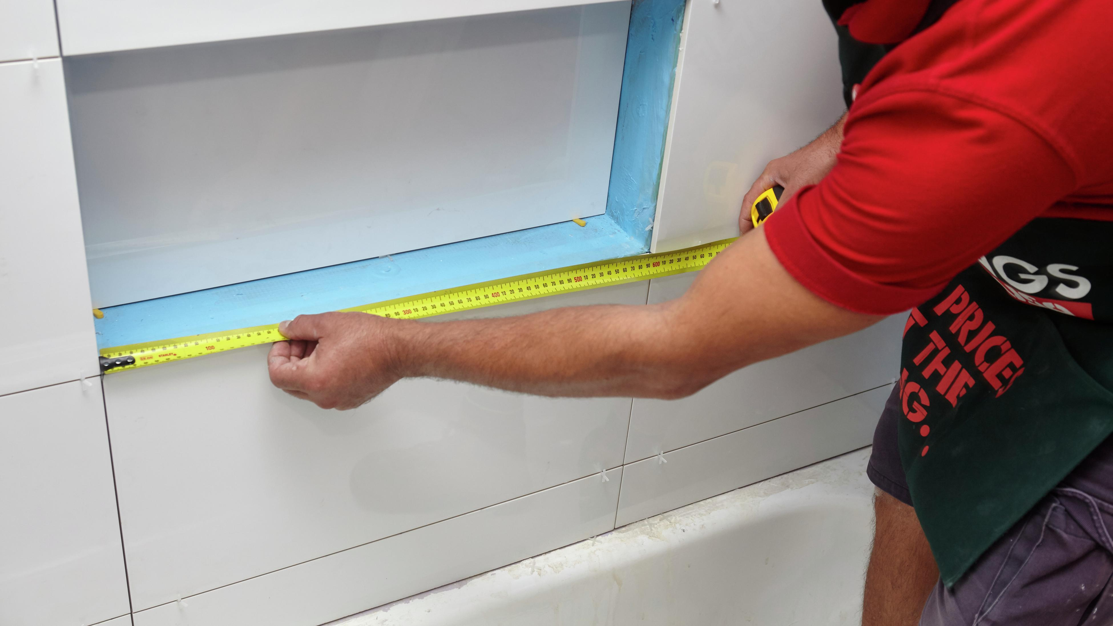 how to fit and install tile trim