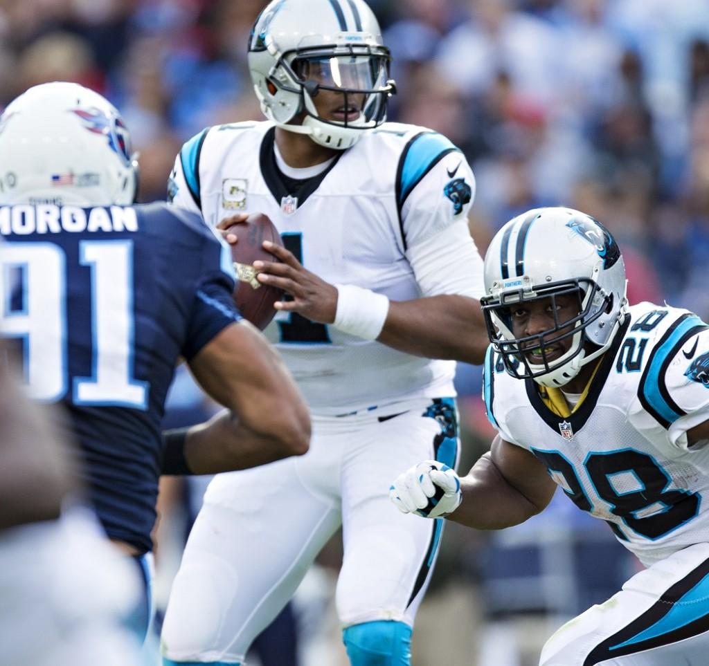 Fantasy Football Depth Charts Carolina Panthers PFF