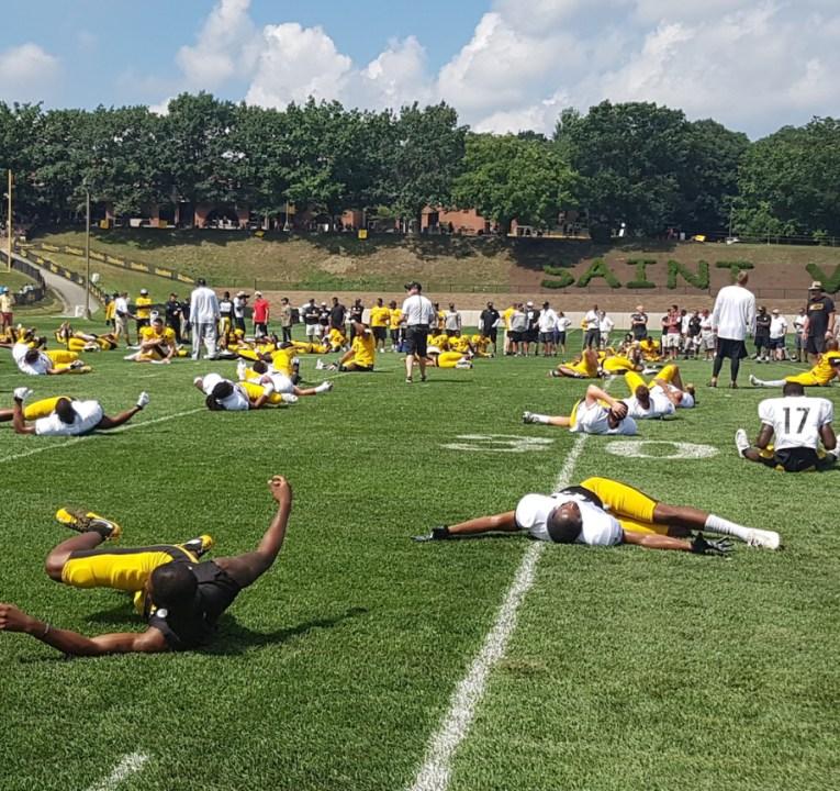 Training Camp Tour: Antonio Brown, Steelers' receiving ...