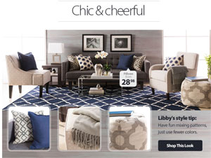 Langdon s new home d    cor collection debuts at Walmart com   Home     Libby Langdon Walmart collection