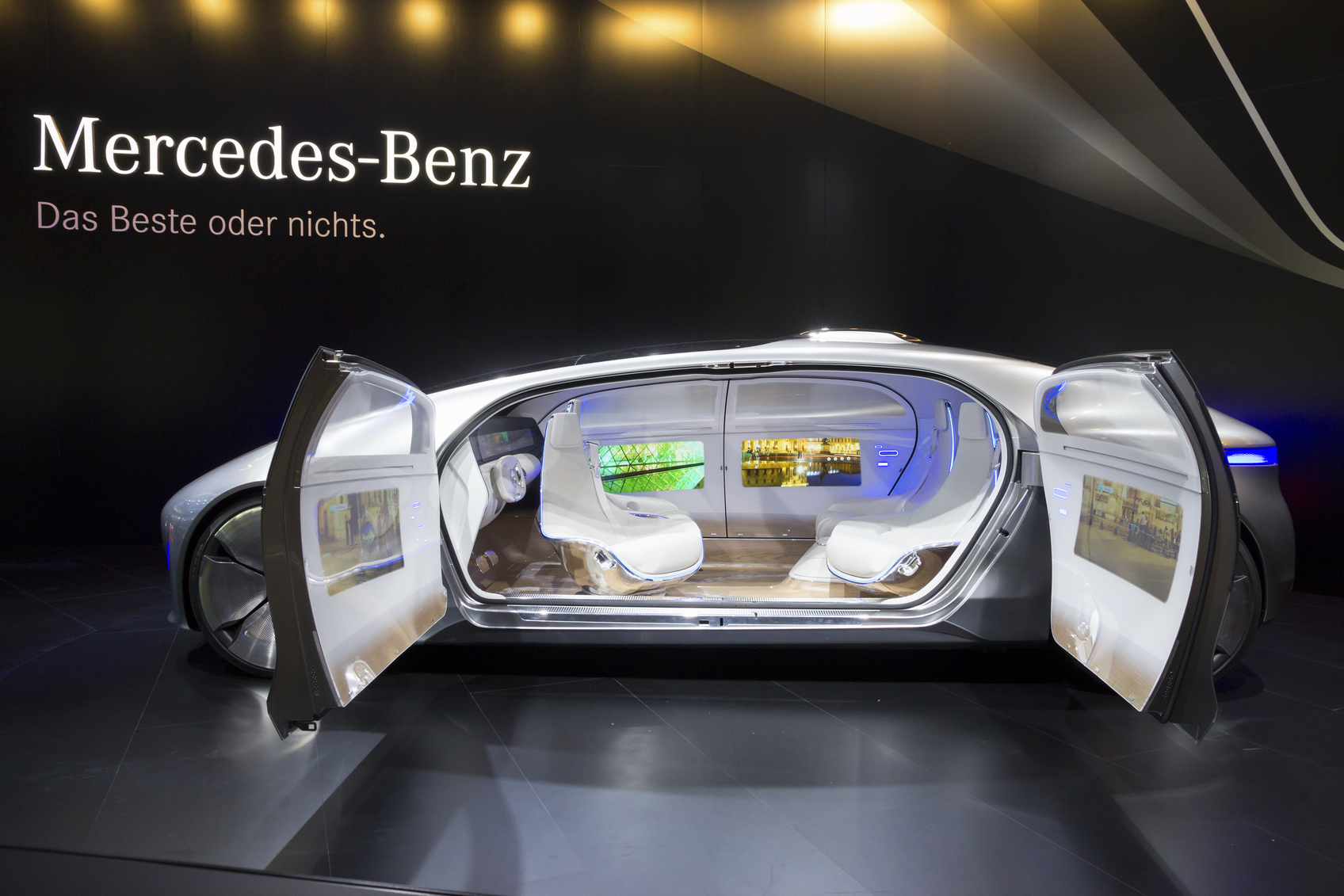 autonomous Mercedes Benz