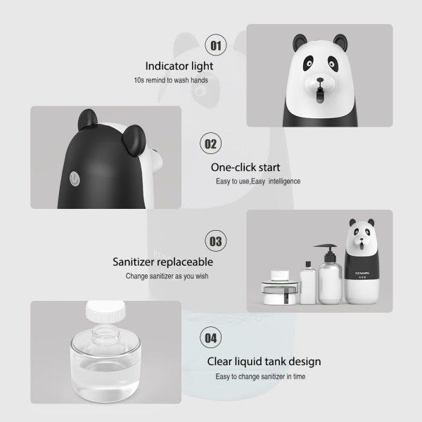 Automatic Foam Soap Dispenser With Sensor