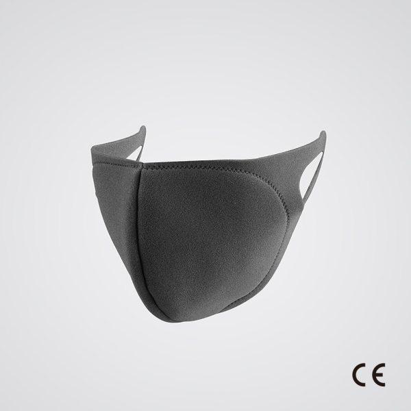 Black Reusable Face Masks 10 Pcs Set