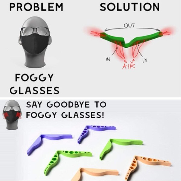 Nose Bridge Bracket For Face Masks 5Pcs Mix