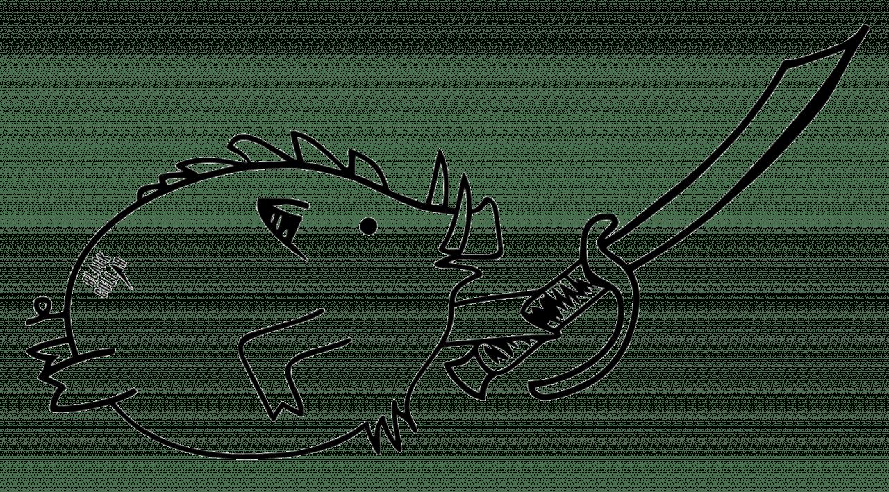 Pork Sword Actual Tattoo