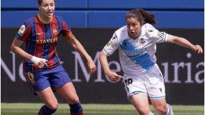 Las jugadoras del Dépor Abanca caen 9-0 ante un poderoso Barcelona
