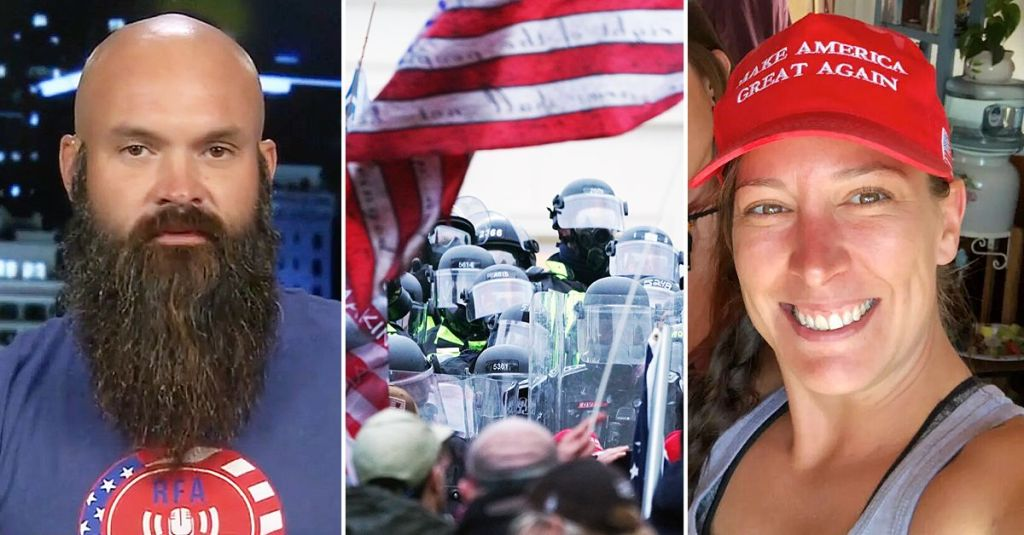Husband Of Dead Capitol Rioter Ashli Babbitt Demands To Know Name Of Cop Who Shot Her Dead, Pursues Legal Action