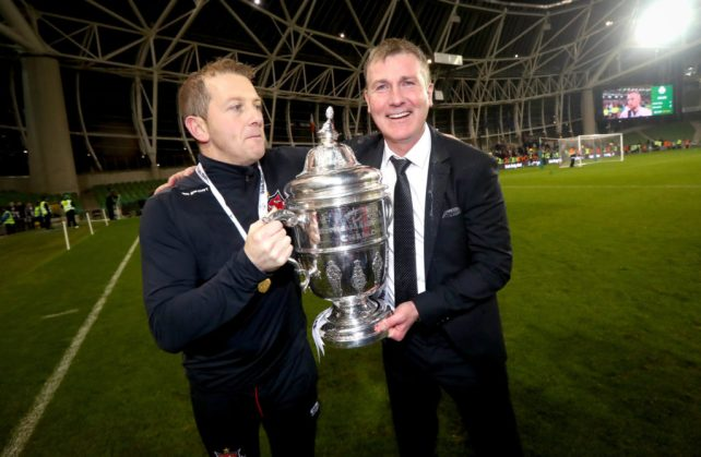 """Vinny Perth: """"I had visions of going to a World Cup with Stephen Kenny"""" 