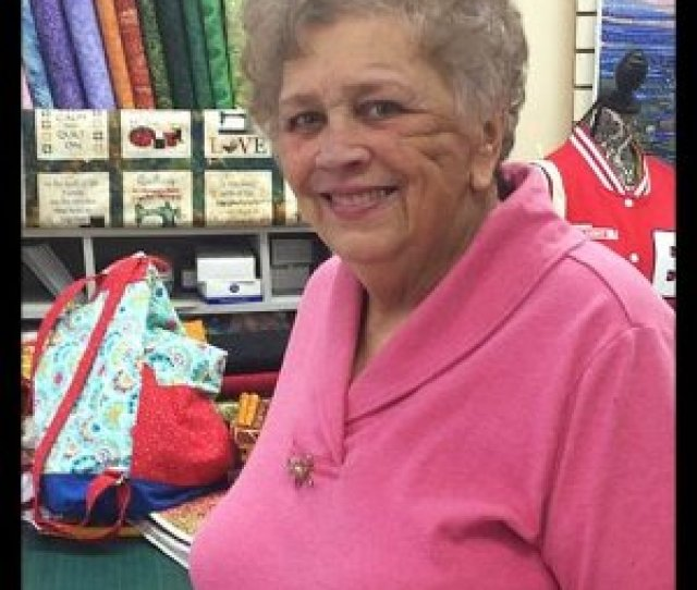 Carolyn Reese Carolyns Grandmother Started Her On Her Sewing Career At The Age Of 6 On A Treadle Machine And By The Time She Was A