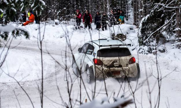 Följ Östersund Winter Rally via Rallyradion