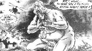 Publicarea unei caricaturi  înfăţisându-l pe fostul fostul premier Ariel Sharon mâncând copii i-a  atras ziarului britanic The Independent acuzaţia de antisemitism / FOTO:  http://doctorbulldog.files.wordpress.com