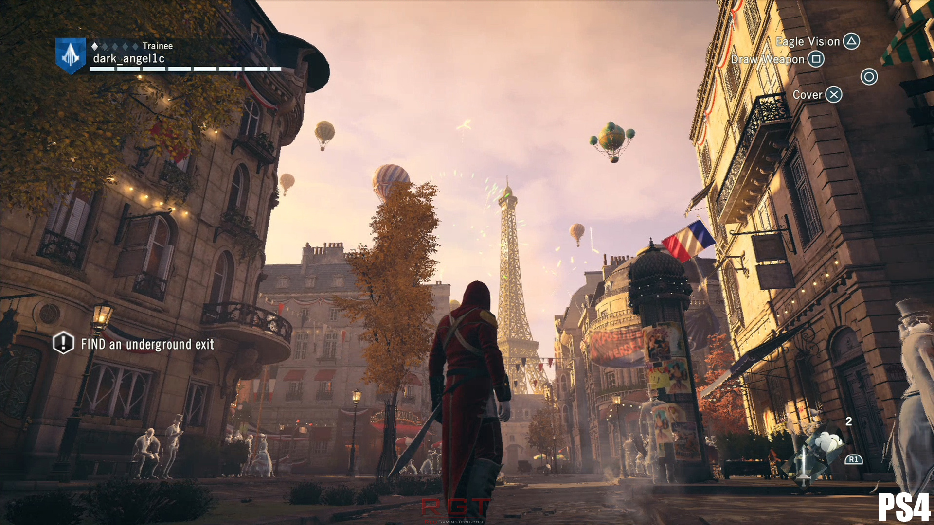 Ac Unity Ps4 Eiffel Tower 1 RedGamingTech RedGamingTech