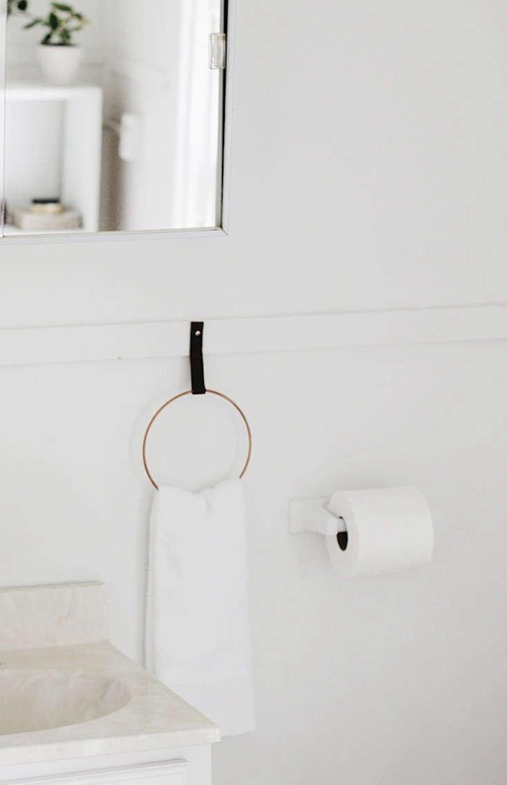 diy a simple and elegant towel holder